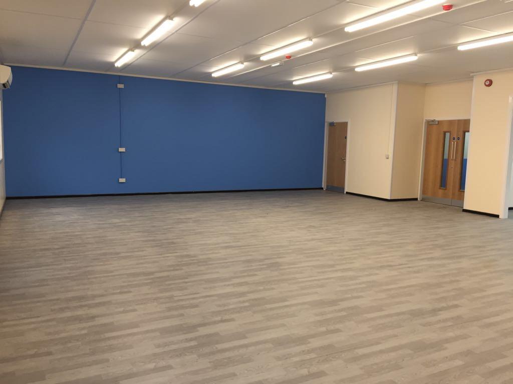 Dance and Drama Studio - Modular Building Interior